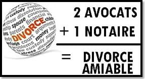 divorce amiable notaire